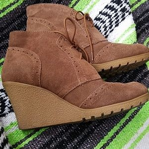 Mia suede wedges